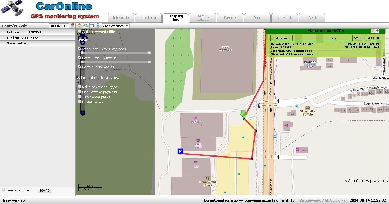 Systemy GPS